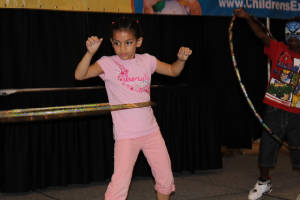 Hula Hoop Contest Fun! Kids Event with DJ - Karaoke & Contests