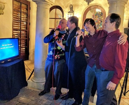 Karaoke Party at a Home